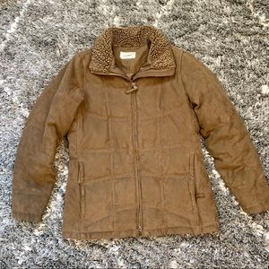 LL Bean Women's Goose Down Filled Quilted Jacket